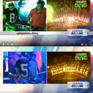 Media One Live Telecast New Year Celebrations at Uday Samudra Kovalam
